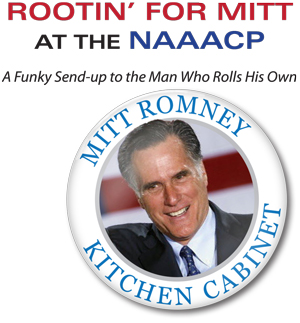 Rootin for Mitt at the NAACP